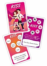 Jeu cartes kiss